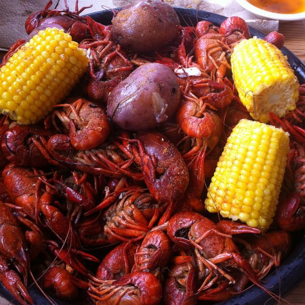 Crawfish Boil, 4/8 at 11:30 AM