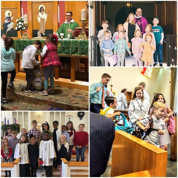 Coins for Christ Raised Joy and $2,207 for United Thanks Offering (UTO)