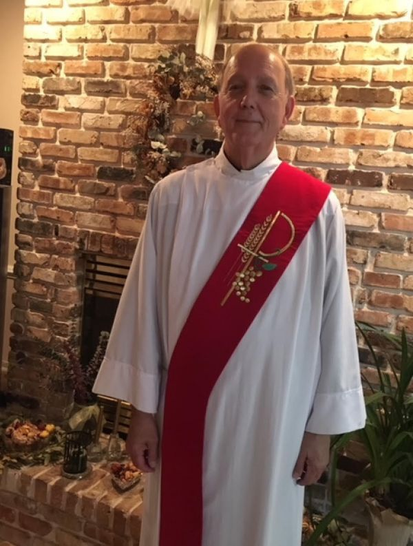 The Rev. Joseph M Clavijo III to preach 10 AM mass and lead forum afterwards July 22