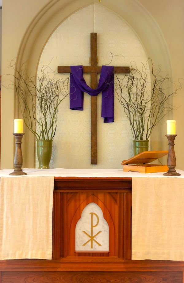 Lent V Liturgy of the Word March 29, 2020 - Bulletin and link to the online worship experience.