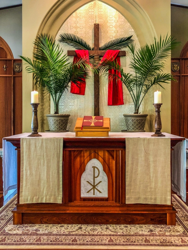 Palm Sunday at St Margaret's