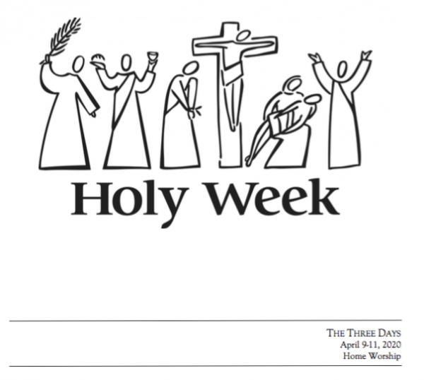 Holy Three Days (Triduum) Home Worship Booklet for Individuals and Families